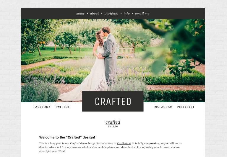 Crafted Design Screenshot