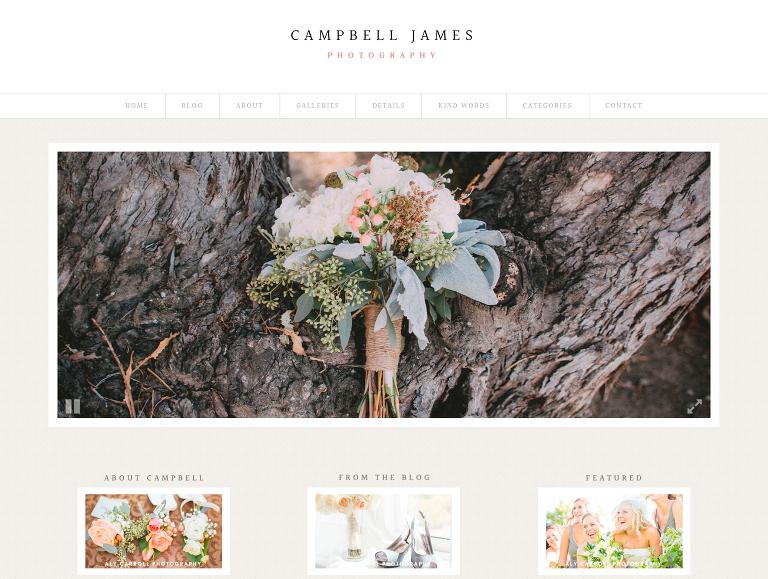 Campbell Design Screenshot